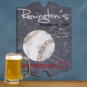 Vintage Personalized Baseball Tavern Sign