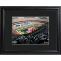 Personalized NFL Stadium Print with Wood Frame - New York Jets