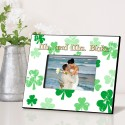 Personalized Raining Clovers Picture Frame