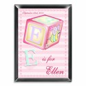 Personalized Girly Bee Room Sign