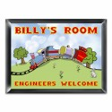 Personalized Choo Choo Room Sign