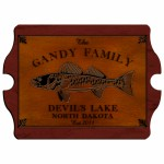 Cabin Series Vintage Signs - Walleye Vintage Cabin Sign