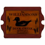 Cabin Series Vintage Signs - Wood Duck Vintage Cabin Sign