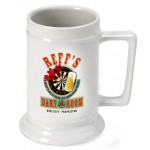 Personalized 16 oz. German Beer Stein - Darts