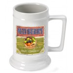 Personalized 16 oz. German Beer Stein - Fruit Company