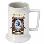 Personalized 16 oz. German Beer Stein - Duck Camp Beer Stein