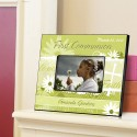 Personalized First Communion Picture Frame - Delicate Daisy Communion