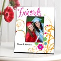 Personalized Cheerful Friendship Picture Frames - Playful Smiles Friendship Picture Frame