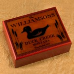 Cabin Series Humidors - Wood Duck Humidor