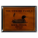 Cabin Series Traditional Signs - Loon Cabin Sign