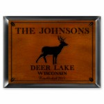 Cabin Series Traditional Signs - Stag Cabin Sign