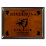Cabin Series Traditional Signs - White Oak Cabin Sign
