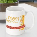 Personalized Mother's Day Coffee Mugs - GC786 Sunshine and Flowers
