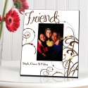 Personalized Cheerful Friendship Picture Frames - Bouncy Bouquet Friendship Picture Frame