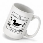 Cabin Series Coffee Mug - Wood Duck Coffee Mug