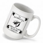 Cabin Series Coffee Mug - White Oak Coffee Mug