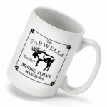 Cabin Series Coffee Mug - Moose Coffee Mug