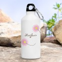 Personalized Happy Blooms Water Bottle