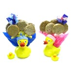 Ducky Cookie Gift Planter - 6 Gourmet Cookies