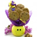 Smiley Face Cookie Gift planter - 6 or 12 Gourmet Cookies